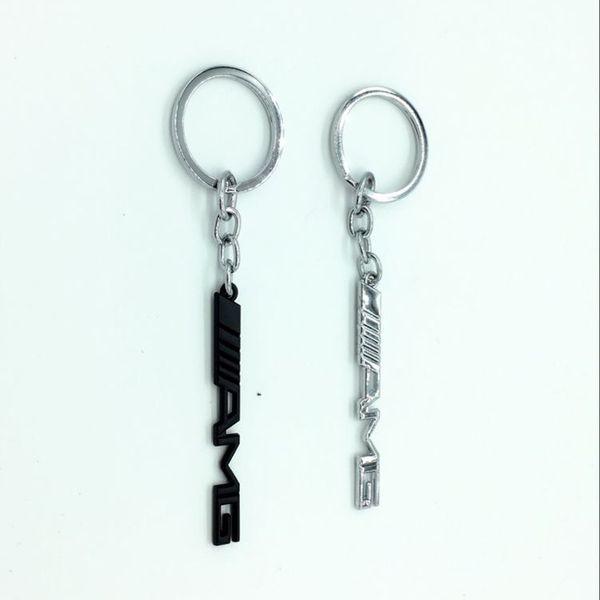 Anahtar Tutucu Oto Aksesuarları Araba Styling Araba Anahtarlık Anahtarlık AMG Rozet Araba Amblemler Mercedes Benz A45 SLS AMG E63 Için yeni