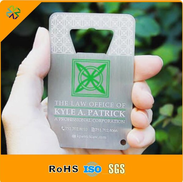 2016 good price stainless steel metalcustom black gold metal card plated gold black name metal card metal business card with 0.5mm thickness