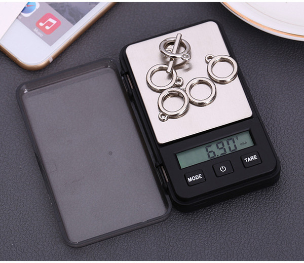 Jewelry balance carat balance portable mini - pocket scale electronic scale green backlight 0.01g small scale