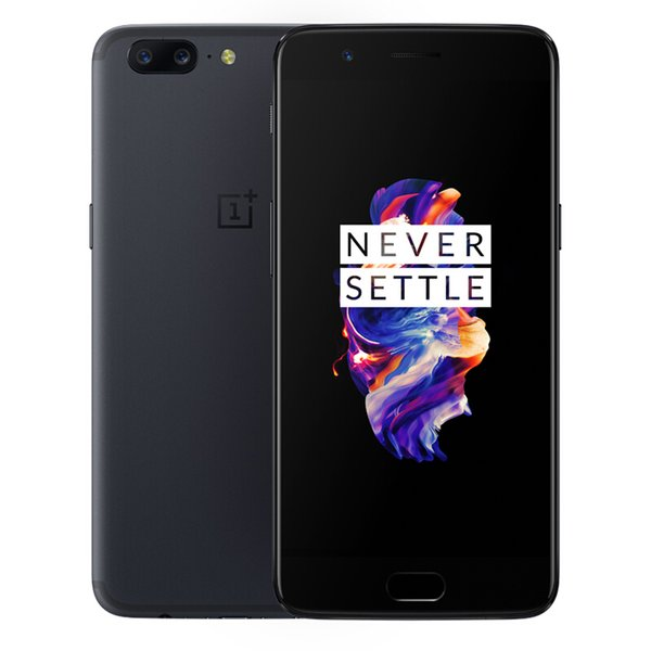Original Oneplus 5 4G LTE Cell Phone 8GB RAM 128GB ROM Snapdragon 835 Octa Core Android 5.5 inch 20MP NFC Fingerprint ID Smart Mobile Phone