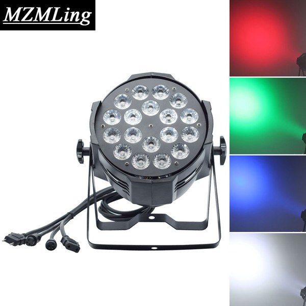 18x18w Led RGBWA+UV 6in1 Par Light DMX512/Auto/Sound/Master Slave Control Par Light DJ /Bar /Party /Show /Stage Light