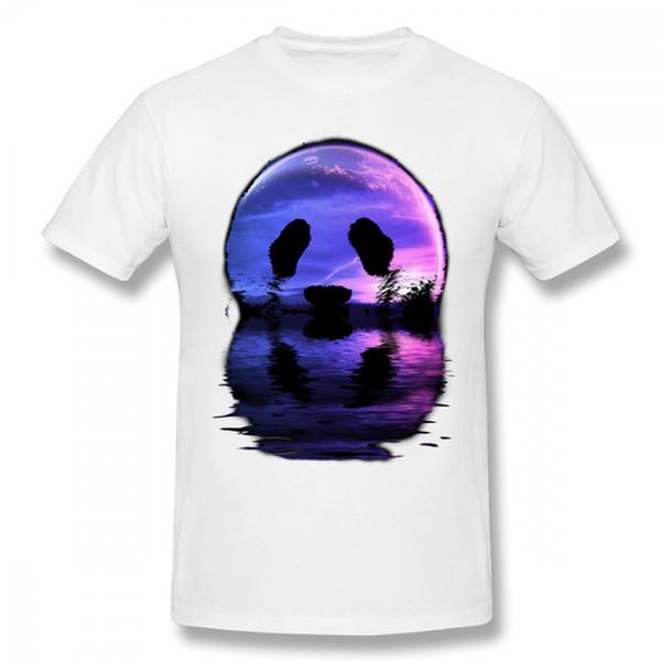 3f9441acd862a1 Neuheits-Panda-Mond für Jungen-populäres T-Shirt männliches Tier-freies