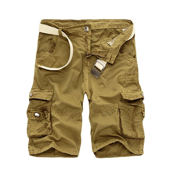 e79973de157cd drop shipping 2018 Shorts Men Summer Hot Sale Work Short Pants Camouflage  Brand Clothing Fashion Mens Cargo Shorts