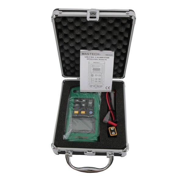 Calibratore di processo tensione corrente Volt Calibratore mAX MS7221 da 0 a 100 mV