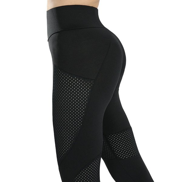 Sexy Push Up Mesh Leggings Women Casual Leggins Mujer Breathable Fitness Clothing Leggings High Waist Pants 3 Color