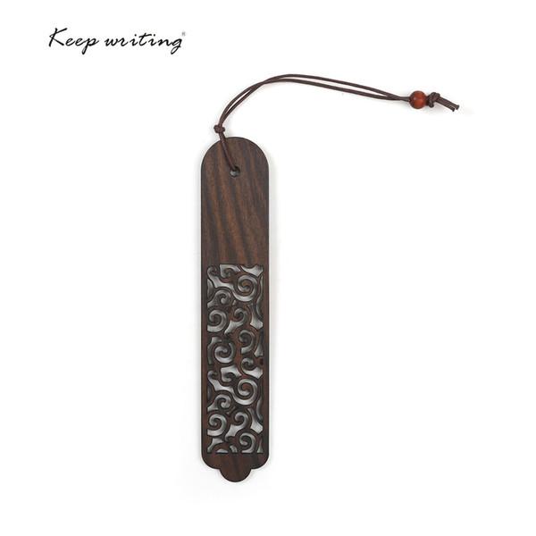 Chinesische Art hölzerne Lesezeichen chinesische s Retro-Lesezeichen Holz Handwerk Chinoiserie Geschenk-Büro Briefpapier Seite schnell Finder