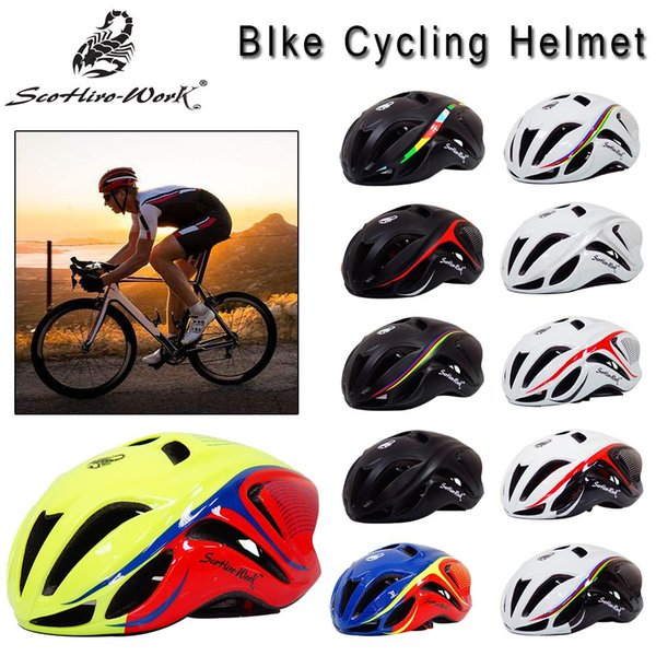 Road Bicycle Helmet For Men Ultralight Integrally-Mold Mountain Bike Cycling Helmet Breathable Sports Cycling Protected