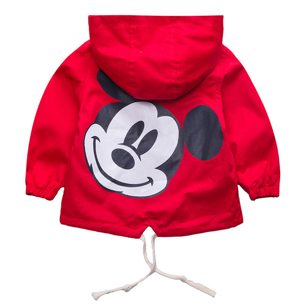 Retail!children autumn clothes coat,baby girls and boy character hooded cardigan windbreaker jacket,baby boys clothes,in stock Y18102508