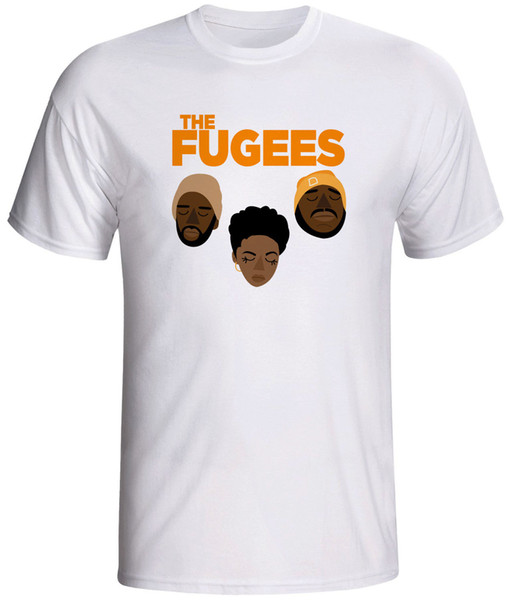 the fugees hip hop shirt New Arrival Male Tees Casual Boy T-Shirt Tops Discounts T-Shirt 2018 Fashion Men top tee