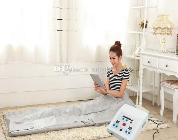 FIR Far Infrared Sauna Blanket Infrared Blanket Weight Loss Body Slimming Blanket Infrared Ray Heat Sauna Bag SPA Body Detox Body Slimming