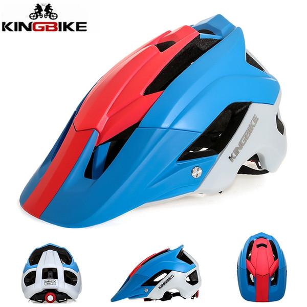 kingbike adult helmets 2018 cycling helmet road mtb bicycle helmet men's race bike helmets outdoor sports capacete de ciclismo