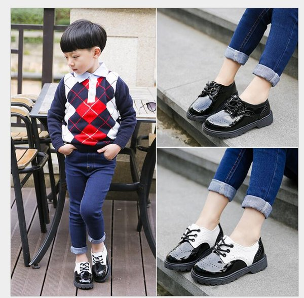 Kids shoes Best-selling new children boys and girls performance princess shoes spring and autumn new dance shoes