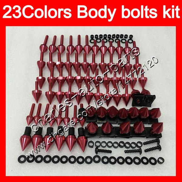 Kit completo de tornillos de carenado para HONDA CBR600F3 95 96 97 98 CBR600 F3 CBR 600 F3 1995 1996 1997 1998 Tuercas de cuerpo tornillos kit de perno tuerca 25 colores