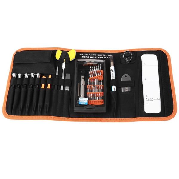 Jakemy multifuncional chave de fenda kit conjunto de reparo para manutenção elétrica do computador profissional multifuncional ferramentas manuais set frete grátis vb