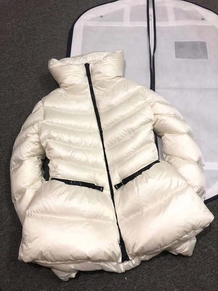 top popular Women Winter Jacket Ladies Duck Down Inside Warm Coat Femme Long Coat Quality Very Good 789 2019