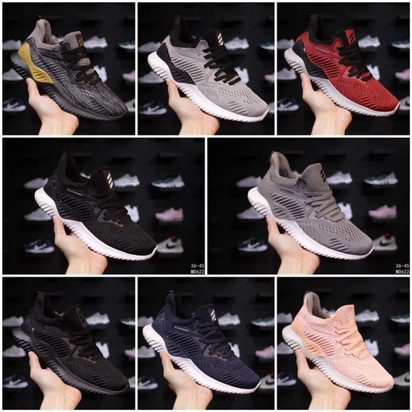 2018 Designer brand Kolor Alphabounce Beyond 330 Mens Running Shoes Alpha bounce Run Sports Trainer Sneakers Man Shoes Size 7-11