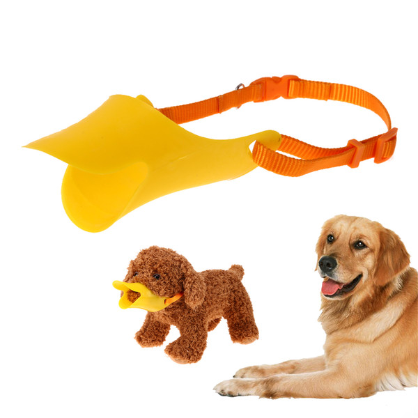 adjustable Adjustable Anti Bite Bark Dog Duck Mouth Training Masks Pet Duckbill Shaped Outdoor Muzzle for Dogs Products