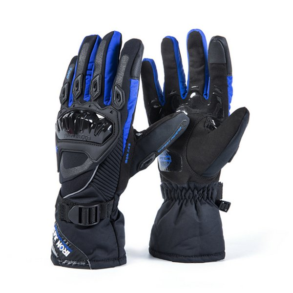 Winter Warm Waterproof Windproof Protective Touch Screen Ski Gloves Men Gloves Motorcycle Gloves Guantes Moto Luvas Motosiklet C18111501