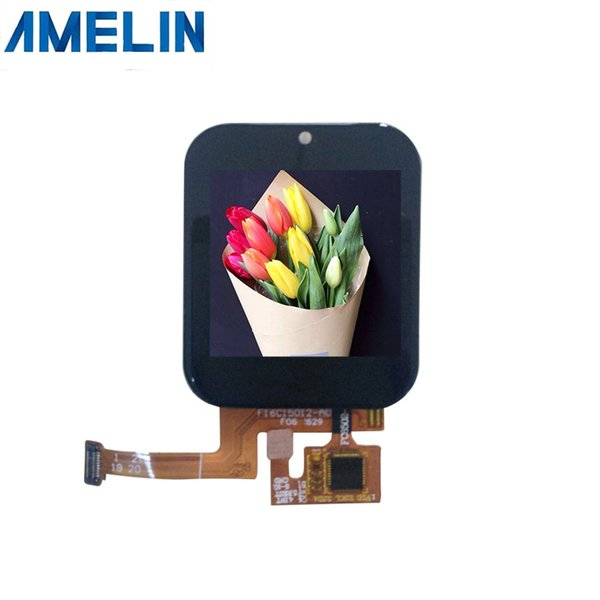 1.54 inch 320*320 tft lcd module touch screen with IPS viewing angle Display from shenzhen amelin panel manufacture