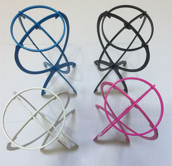 Hot Folding Plastic Wig Stand Stable Durable Hair Support Display Wigs Hat Cap Holder Tool Rose Pink Blue Black White Color DHL Free