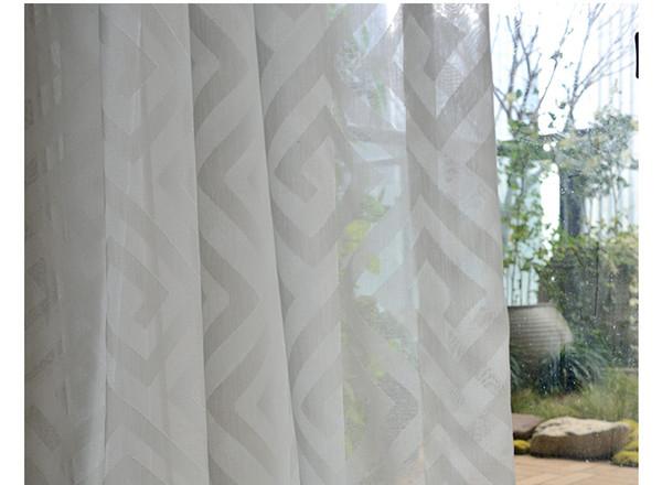 Tende Per Finestra Balcone : Acquista bianco obliquo design finestra finestra garza tende