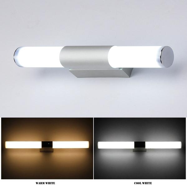 Großhandel Acryl Wand Lampen Badezimmer LED Spiegel Licht Wasserdicht 12W  16W 22W AC85 265V LED Rohr Moderne Wand Lampe Badezimmer Beleuchtung Von ...