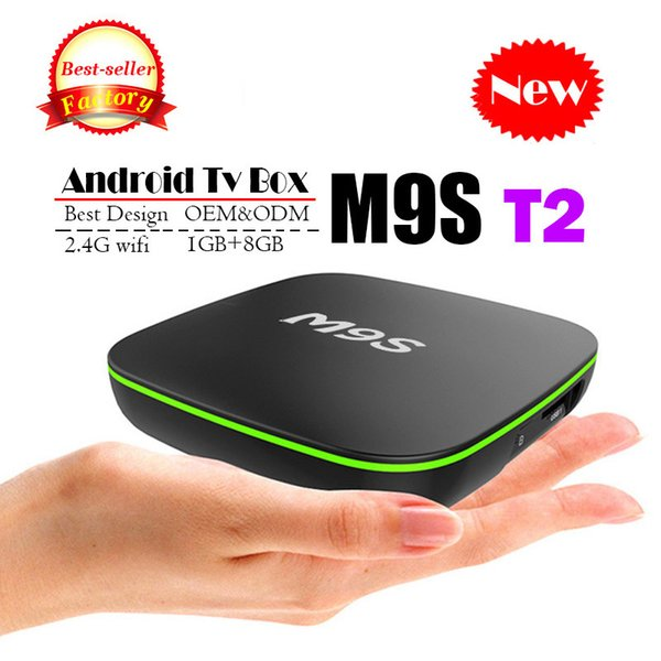 2018 Cheapest M9S T2 Android 7.1 Tv Box Quad Core 1GB 8GB H3 Chip Support Wifi 4K 3D Media Player Smart Tv Box Better X96 MINI H96 TX3 A95X