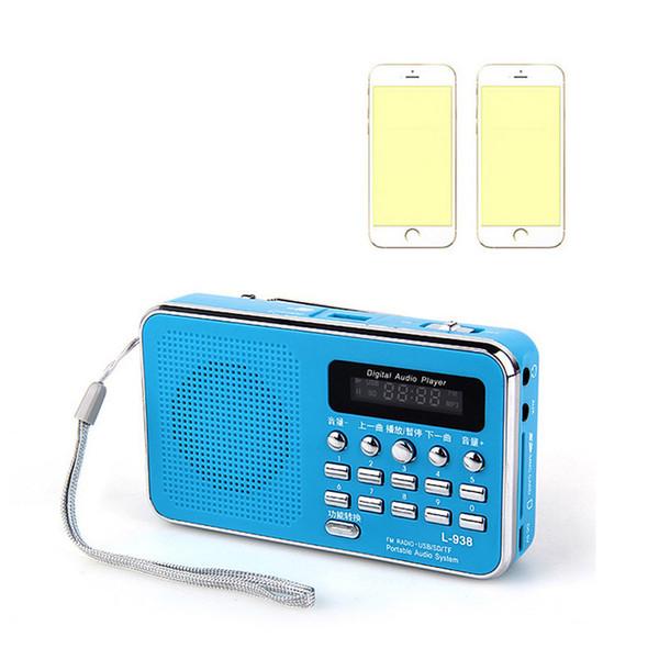 Hot New Mini Digital Portable Music Mp3 Player Micro Sd Tf Card Slot Digital Mp3 Music Player Speaker Fm Radio Electronic 2018