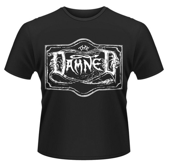 THE DAMNED' El CHISWICK Individual Logo 'T-SHIRT - Nuevo y Oficial