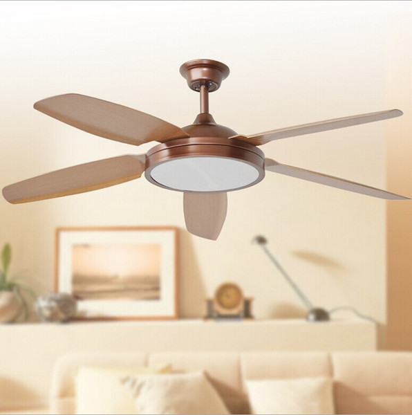 Ceiling Fan With Lights Remote Control 110-240Volt Fan LED Light Bulbs Bedroom Lamp Free Shipping