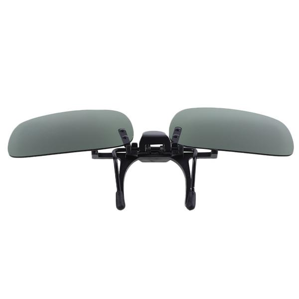 Polarisierte Linsen Spiegel Flip Up für Sonnenbrille Gläser Outdoor Driving