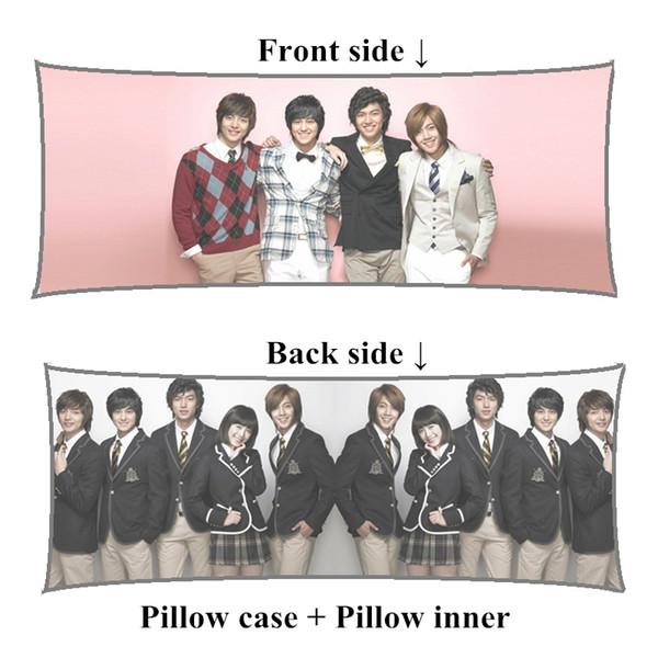 New korea drama Boys Over Flowers Kim Hyun Joong Lee MinHo Boyfriend body Pillow customize long pillows