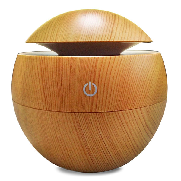 Original Aroma Essential Oil Diffuser 130ML Aromatherapy Cool Mist Humidifier Changing LED Lights USB Air Purifier Free Shipping NB