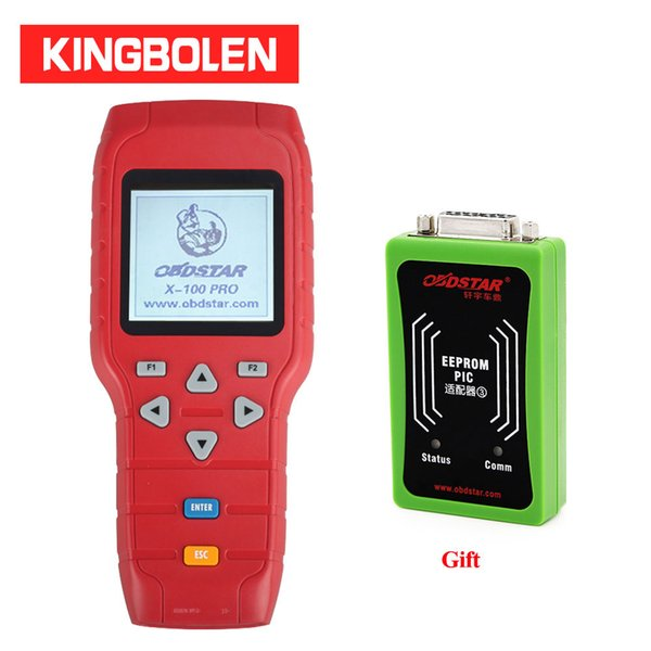 OBDSTAR X100 Pro C type E type IMMOBILISER Auto Key Programmer with EEPROM Adapter Professional OBD2 Code Scanner x-100 pro