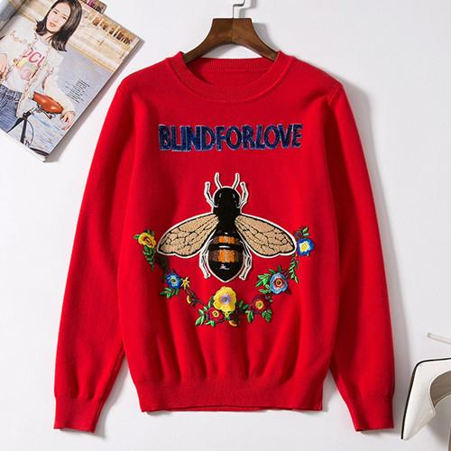 0070817aa73a 2018 new animal print flower embroidery sweater red turtleneck sweater  18-24m year of fate