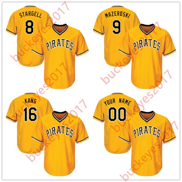 official photos 6201b abfd3 2017 Pittsburgh Pirates Hot Jerseys Stitched White Gray Camo Black Gold #8  Willie Stargell 9 Bill Mazeroski 16 Jung Ho Kang 23 David Freese From ...