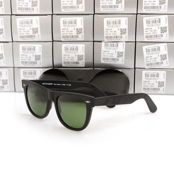 mens eyeglasses fashion Coupons - Matte Black sunglasses mens sun glasses glass Lens Plank sunglasses High Quality womens glasses UV protection eyeglass Wayfarers sun glasses
