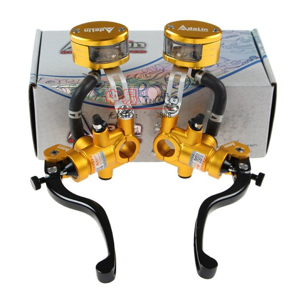 1 pcs 19x18 mm With CNC oil cup tank Motorcycle Radial Brake Clutch Master Cylinder Hydraulic Pump For Honda Yamaha Kawasaki Suzuki