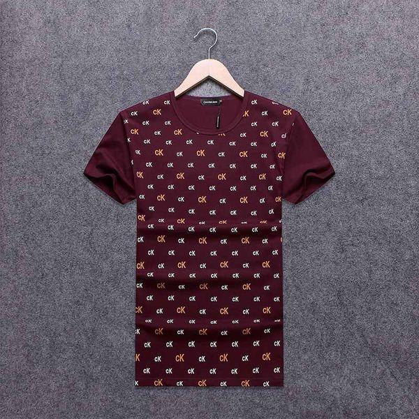Summer Men T Shirts Cool Design camiseta de algodón # 2229 ropa de hombre casual de manga corta jersey hip hop fashion imprimir Tops camisetas