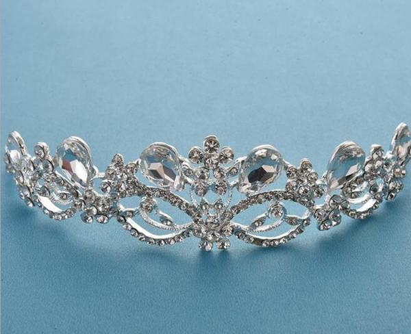 Corona nupcial estrella headwear accesorios para el cabello accesorios de boda de Corea accesorios del vestido de boda nuevo envío libre