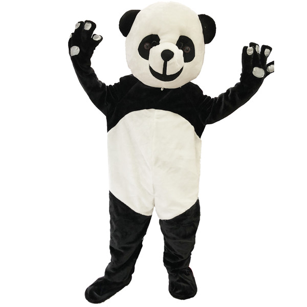New Adult Panda Mascot Costume Carnival Party Mascot Costume Fancy Dress Clothing Halloween Party Suit