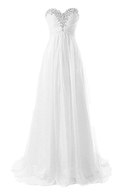 New Draped Hot Summer Beach Wedding Dresses Crystal Bling Bling Chiffon Bridal Gowns Custom Made Fashion Romantic Pleated Real Picture