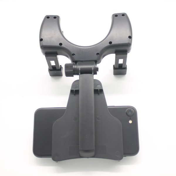 Dewtreetali Universal Adjustable Car Auto Rearview Mirror Mount Cell Phone Holder Bracket Stands For Mobile Phone GPS