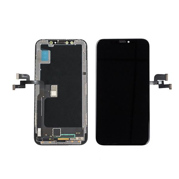 Nuovo display LCD Amoled OEM per iPhone X / 10 Qualità ufficiale Colore perfetto Riconoscimento viso + Spedizione gratuita DHL
