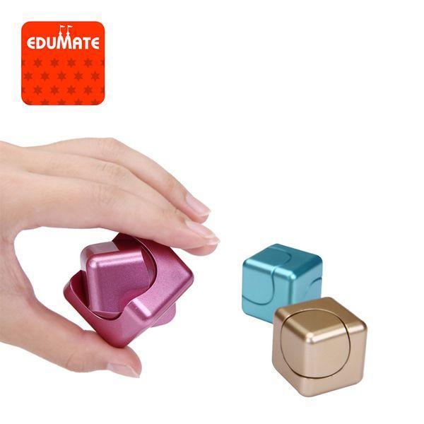 Fidget Cube Two-in-one Hand Spinner Square spinner Finger Toy Fidget Spinner Stress Relief Desk Spin Toys Gifts For Children