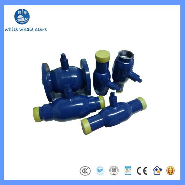 best selling Q61F DN50 CARBON STEEL ONE-PIECE WELDED BALL VALVE