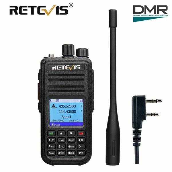 Retevis Rt3s Dual Band Dmr Digital Walkie Talkie Ham Radio Amador Hf Rhmdhgate: Ham Radio Gps At Gmaili.net