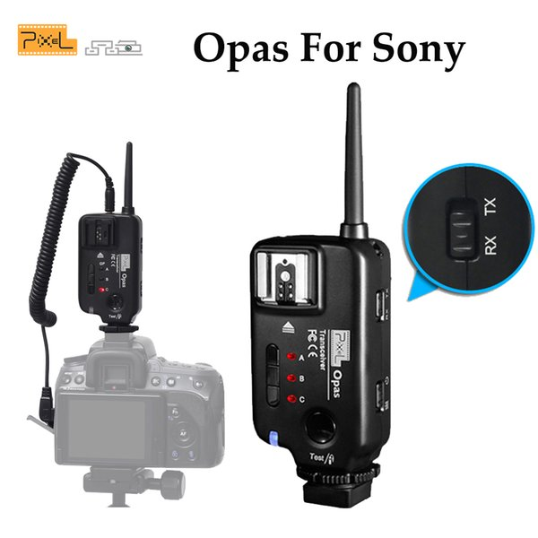 wholesale Opas Wireless Flash Trigger Transmitter Transceiver For Sony Camera A900 A850 A750 A700 A550 A500 A380 A350 A330 A300