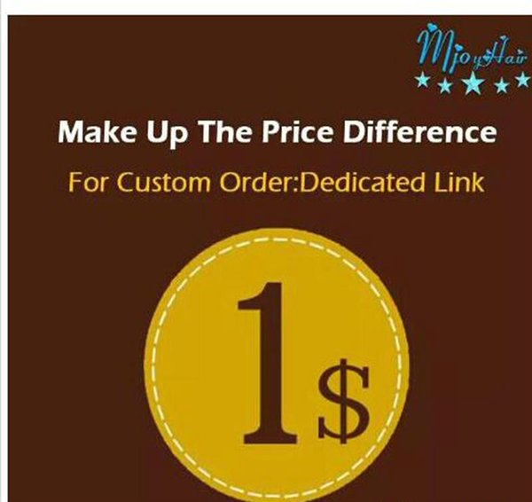 best selling Make up the Price Difference dedicated link shipping Make up patchs sock the difference Mjoyhair A dedicated link