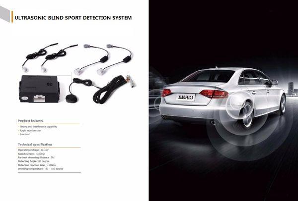 CarBest Ultrasonic Blind Spot Detection System BSD Change Lane Safer Car Driving Security